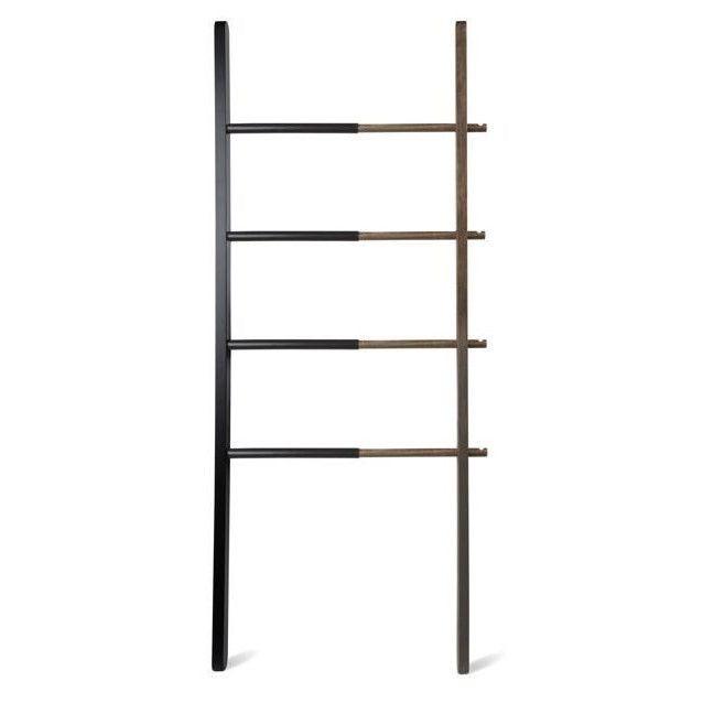 Ladder Hub | Black & Walnut