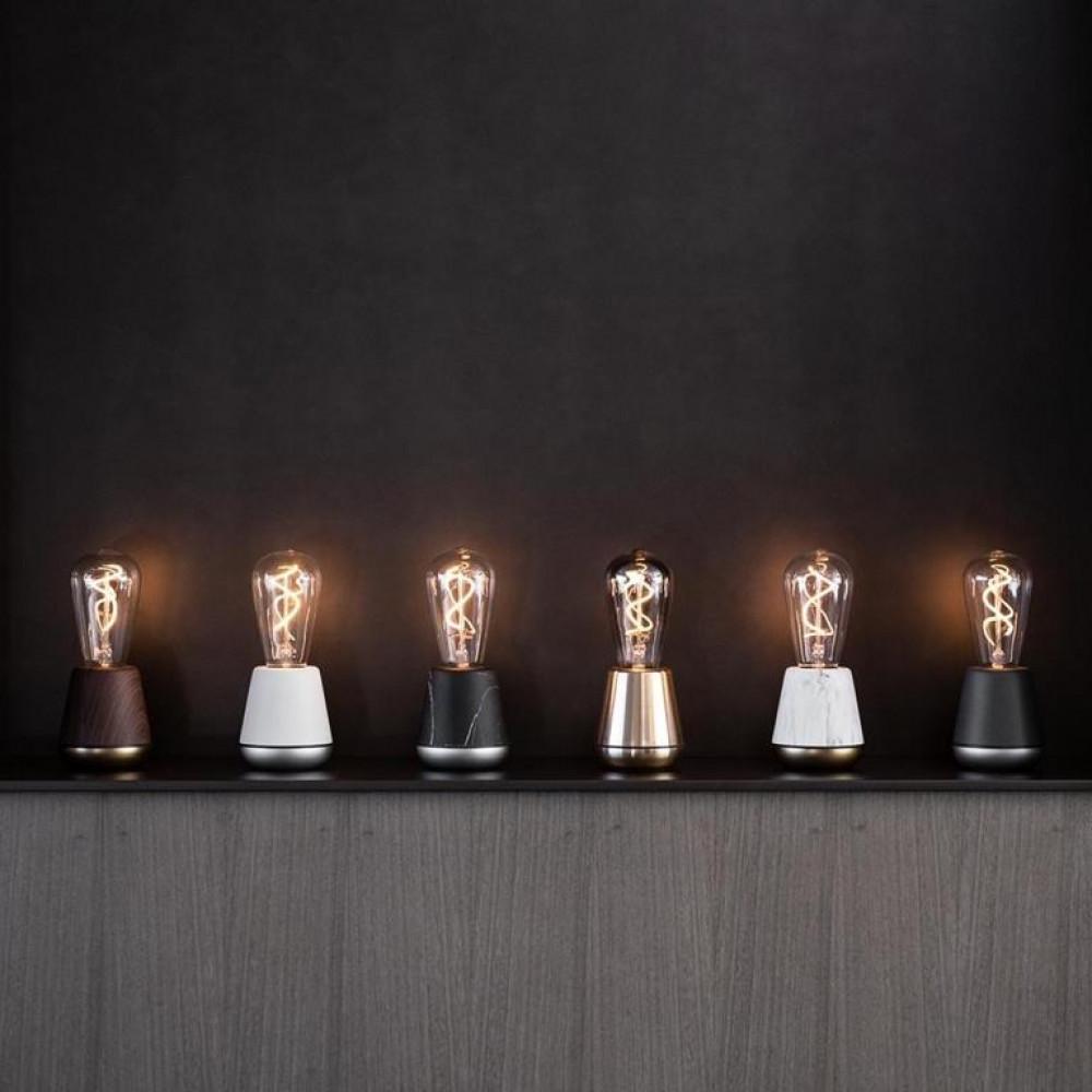 Drahtlose Tischlampe One | Gold