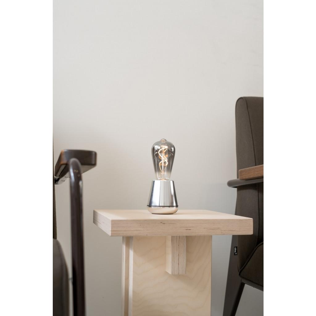 Drahtlose Tischlampe One | Silber