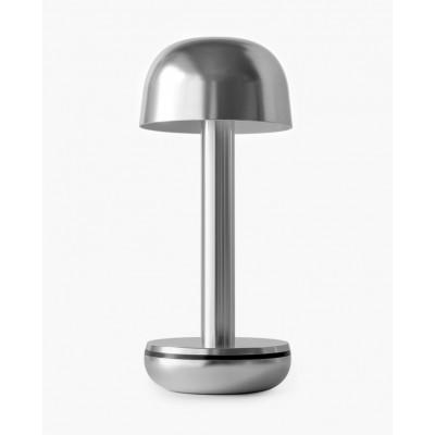 Kabellose Tischleuchte Two | Silber
