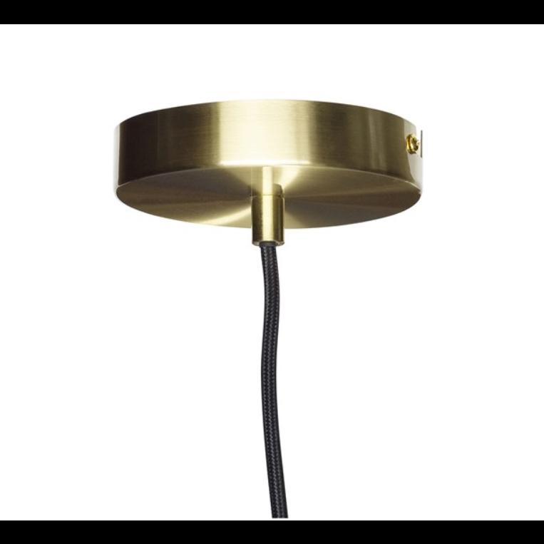 Pendant Lamp   Black / Brass