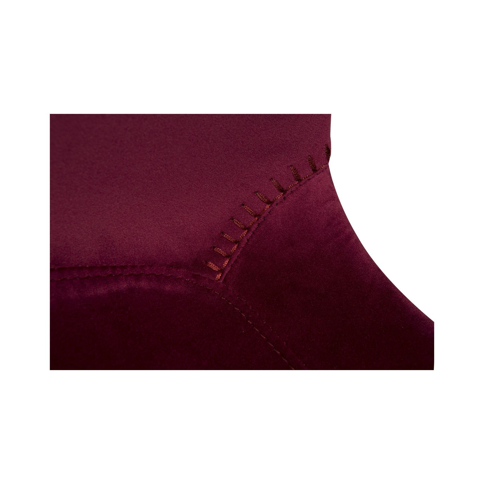 Bar Stool Hype Velvet | Ruby