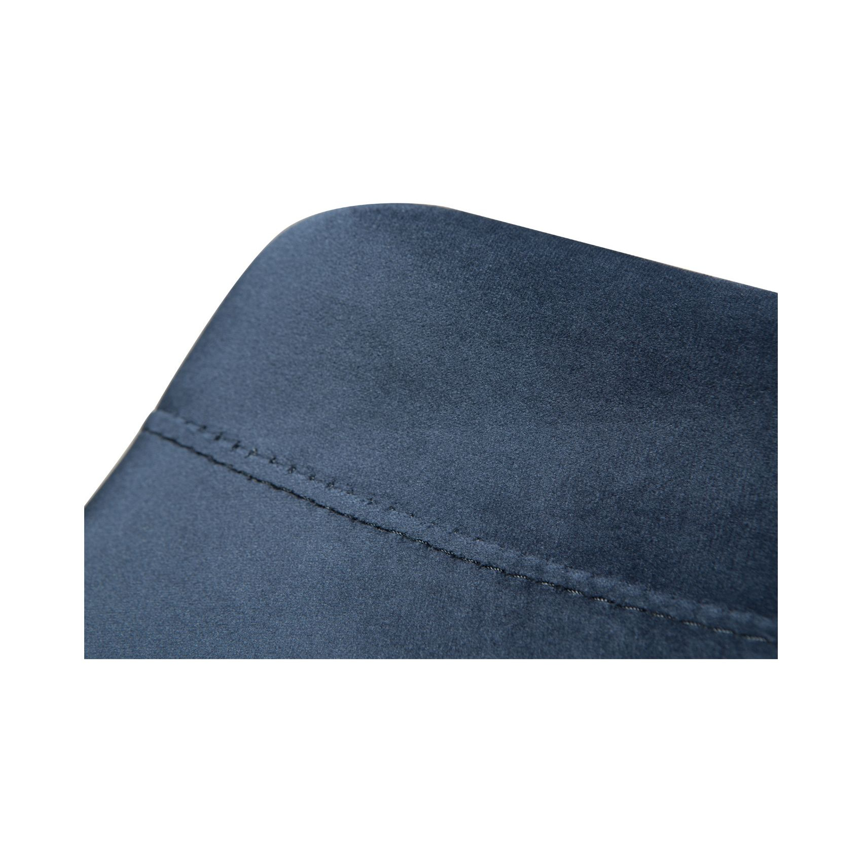Barhocker-Hype Samt   Blau