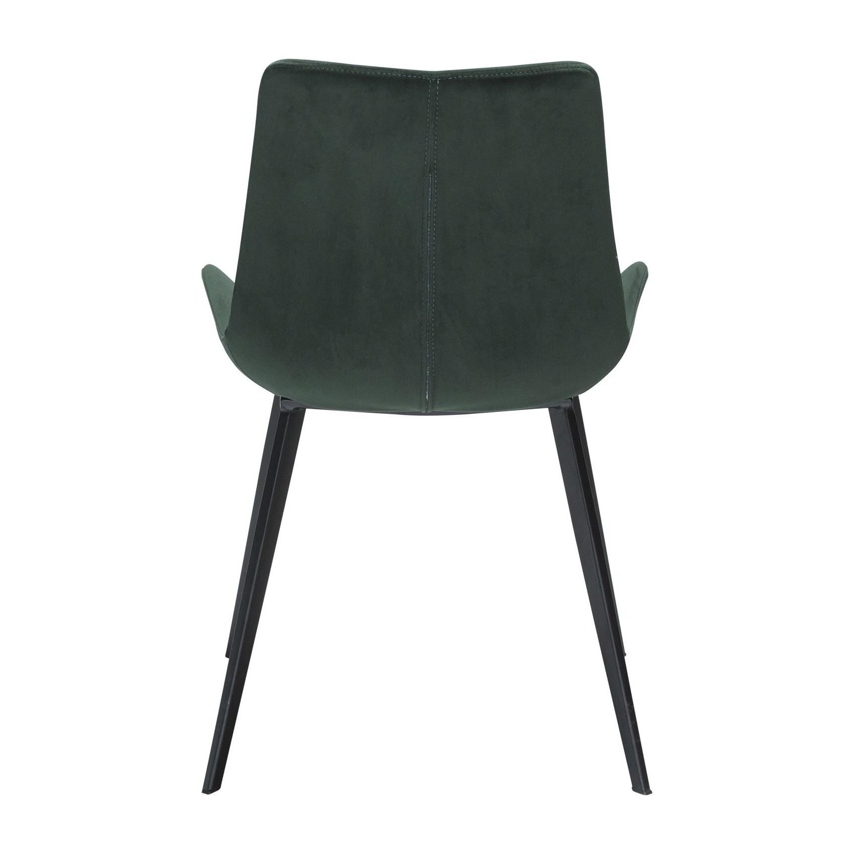 Chaise Hype | Velours Vert