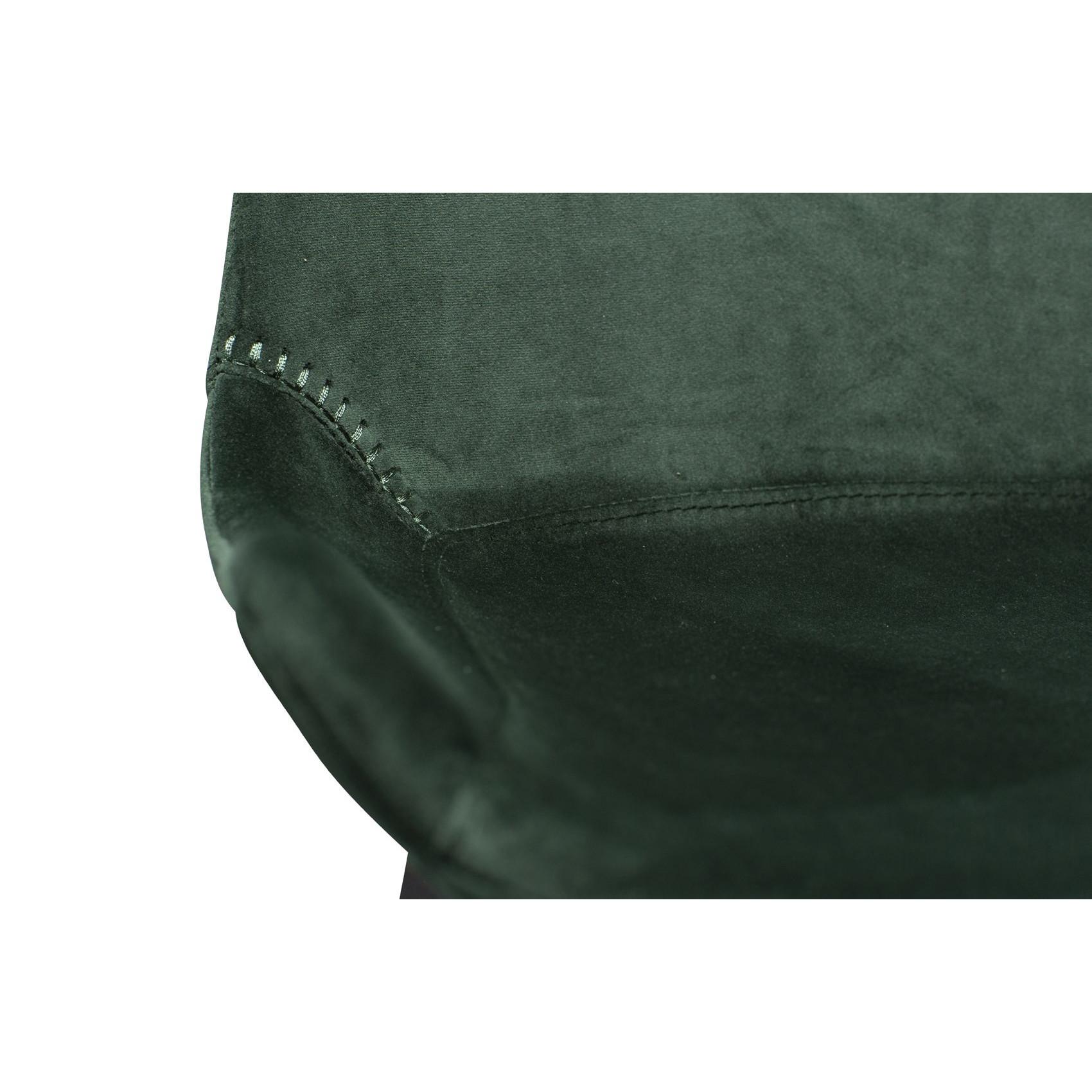 Counter Stool Hype Velvet | Green
