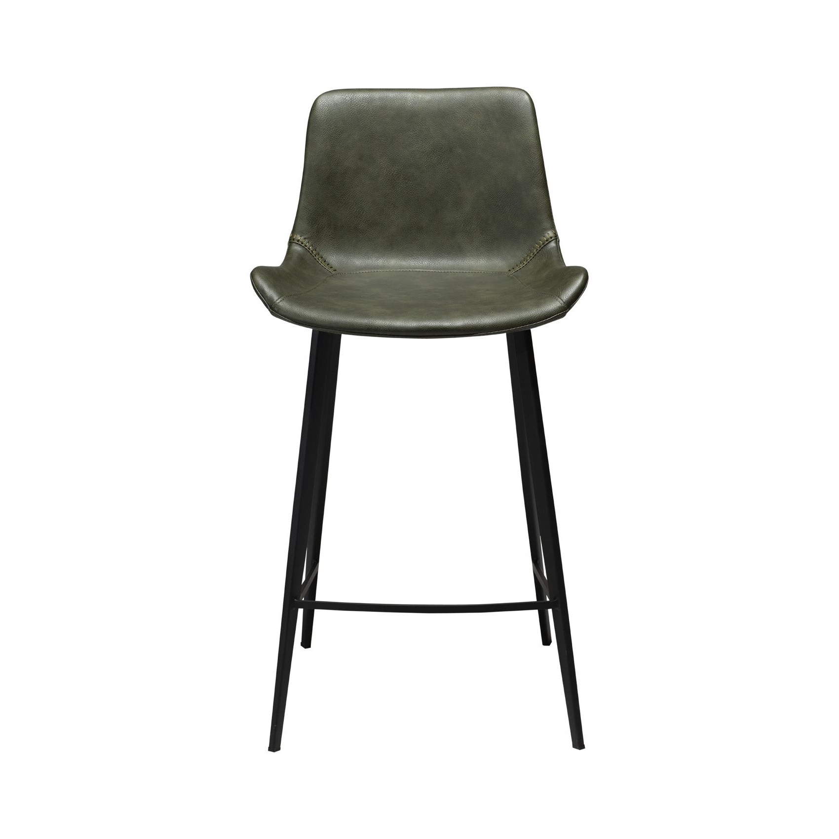 Counter Stool Hype Vintage Artificial Leather | Green