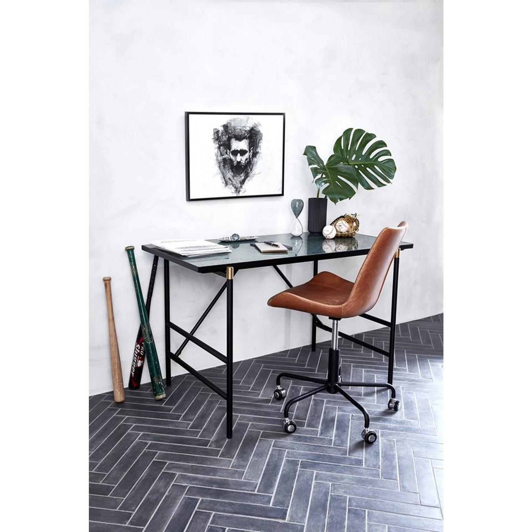 Bürostuhl-Hype | Art. Leder / Vintage Hellbraun