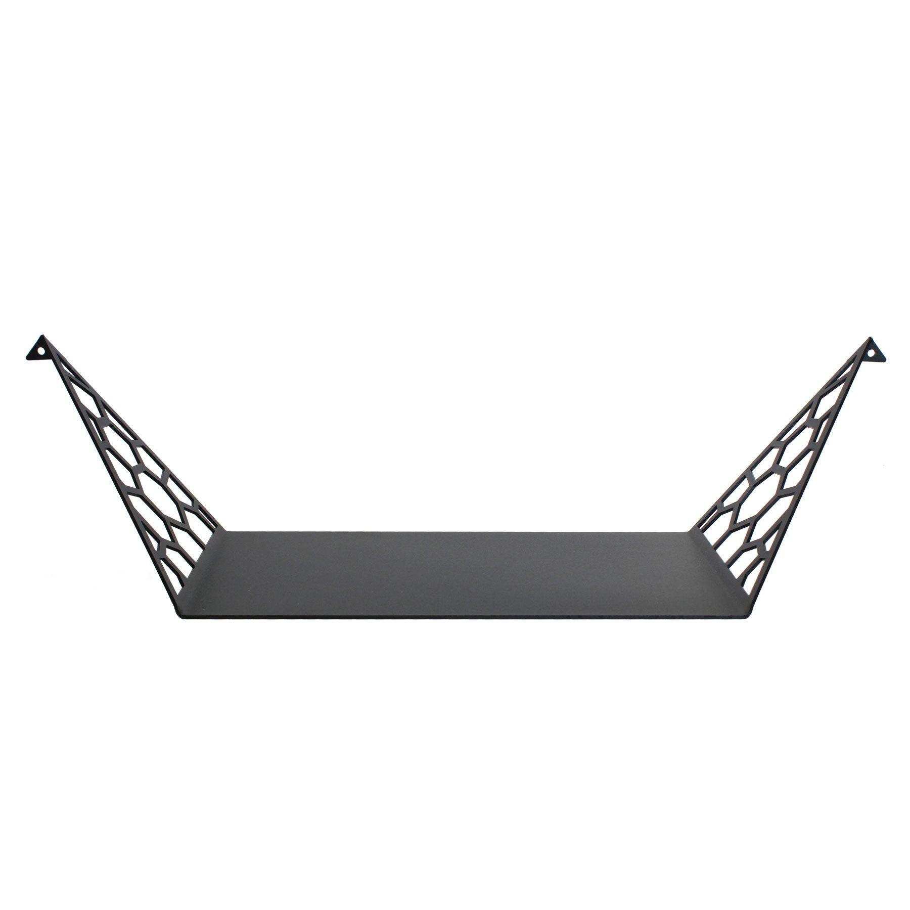 Shelf Hex Large | Dark Grey