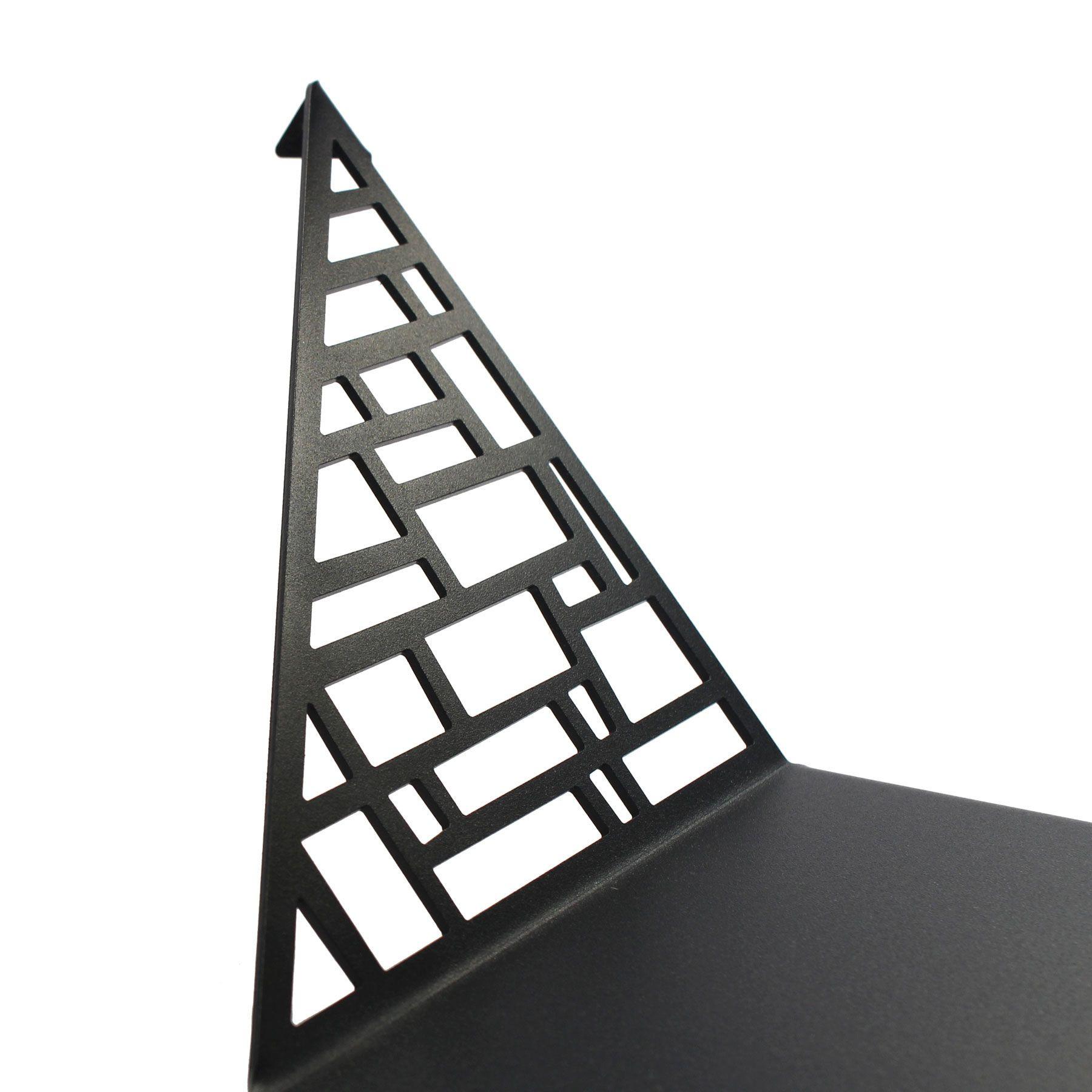 Shelf Square Large   Dark Grey
