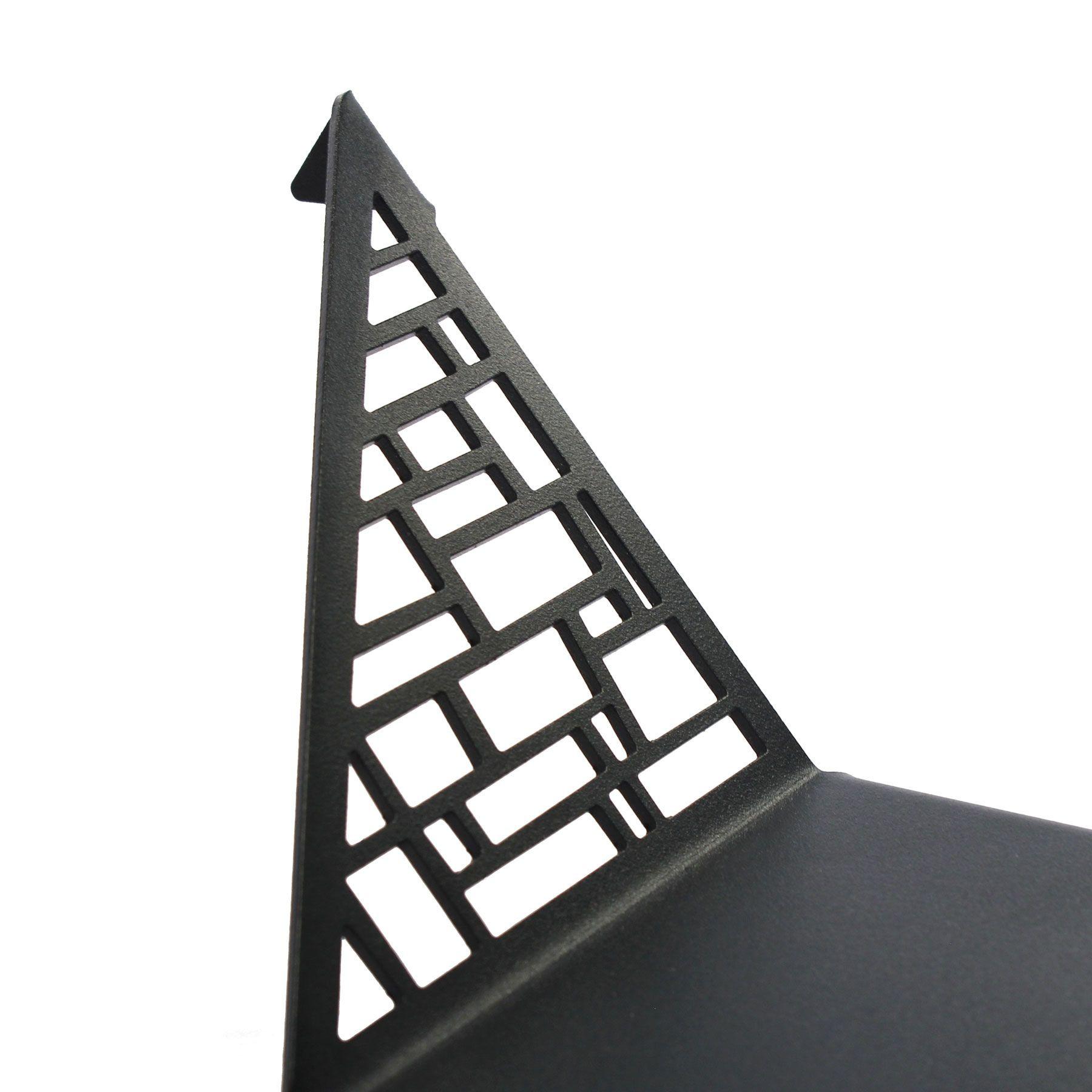 Shelf Square Small   Dark Grey