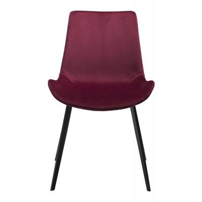 Chair Hype Velvet | Ruby