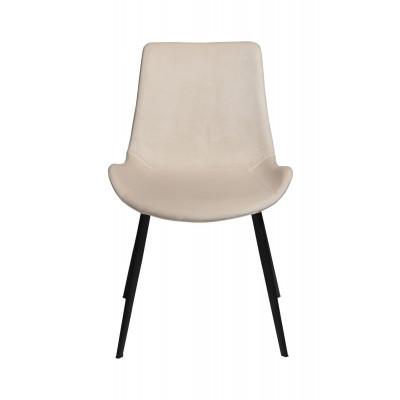 Chair Hype Velvet | Pearl