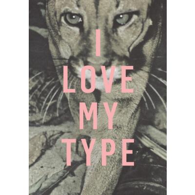 Ich liebe meinen Typ Poster   Puma