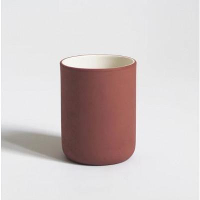 Kaffeetassen-Set mit 6 Stück | Terrakotta