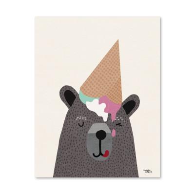 Ich <3 Eiscreme - Poster