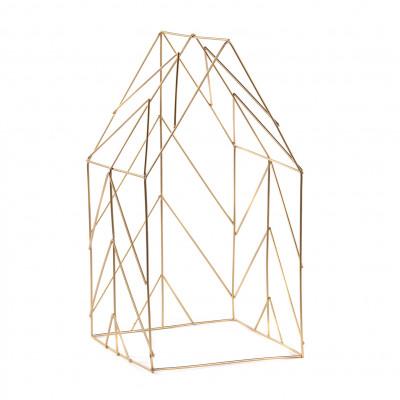 Deko-Haus 50.5 cm | Gold