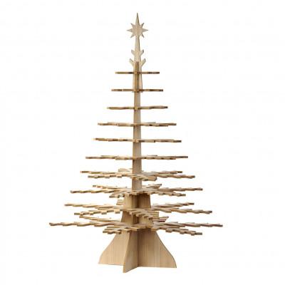 Deko-Weihnachtsbaum aus Holz 110 cm