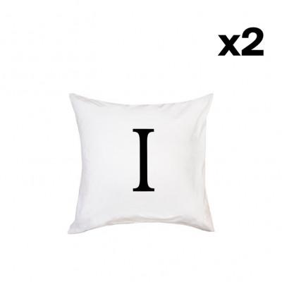 2er-Set Kissenbezügen | I