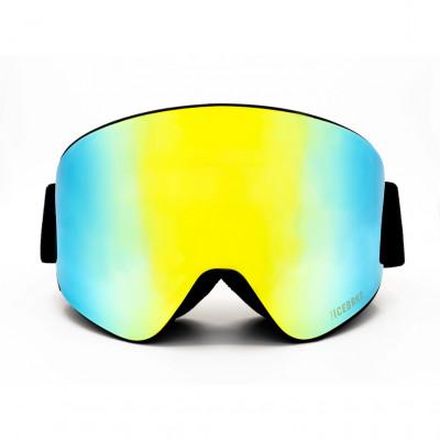 Skibrille mit Audio | Mirror Gelb/Grün