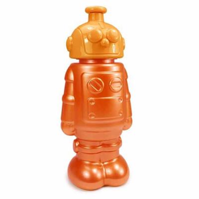 Robot Drinking Bottle | Orange