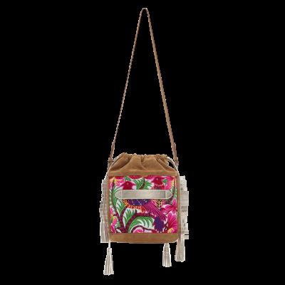 Ibiza Bucket Bag | Blond + Broderie