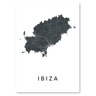 City Map Ibiza