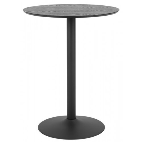 Round Coffee Table Exotika Ø 80 cm H 105 cm | Black