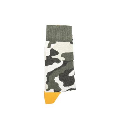 Unisex-Socken   Tarngrün