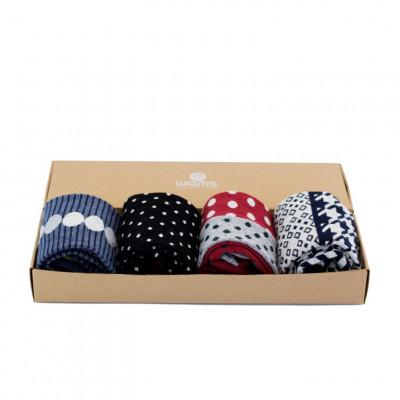 Socken Elegant Geschenkbox
