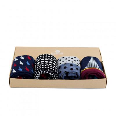Socken Denim Blue Geschenkbox