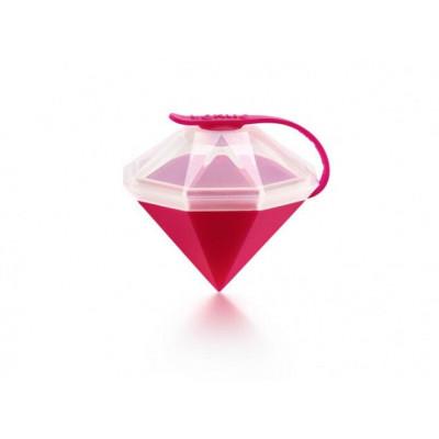 Eiswürfelform Diamant   Rosa