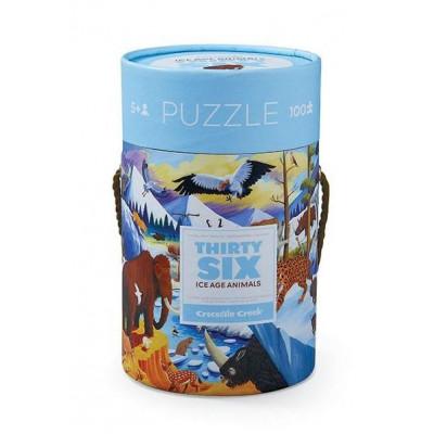 100 Pieces Puzzle | Ice Age Animals