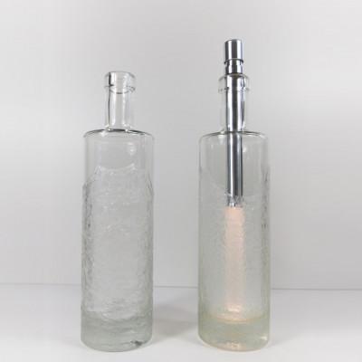Bottlelight-Glasflasche | Titano Eisblumen FL-203