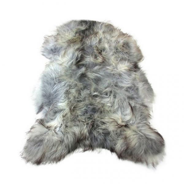Isländisches Schafsfell | Grau