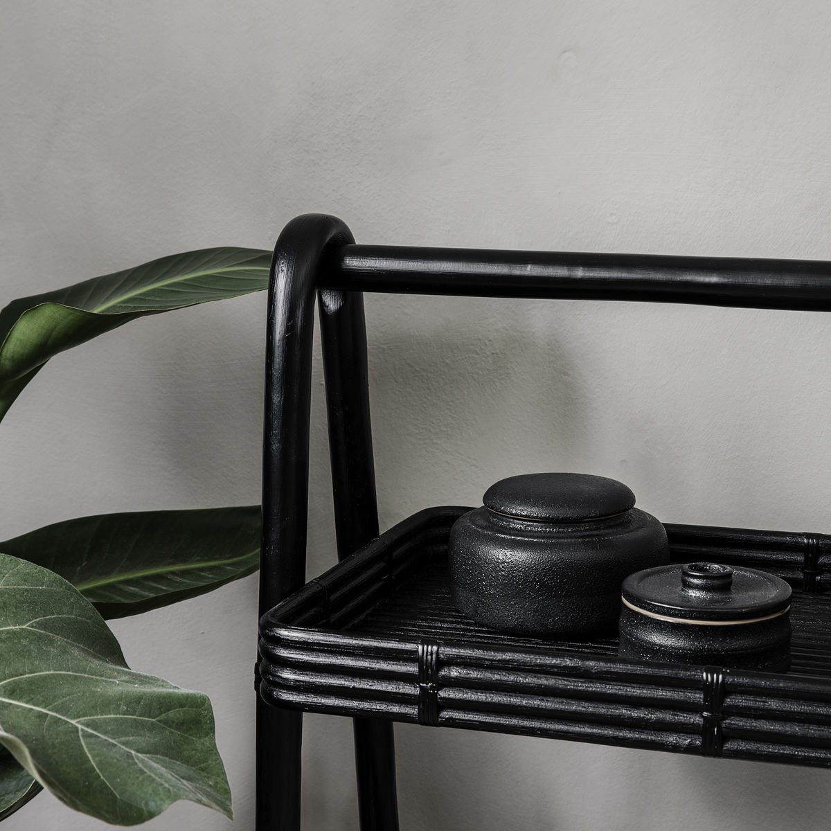 Stand Orga 57 x 30.5 x 81 cm   Black