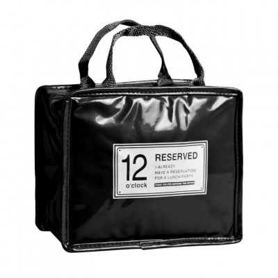 Lunchpaket reserviert   Schwarz