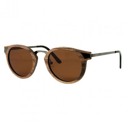 Wooden Frame Sunglasses Ignis Walnut