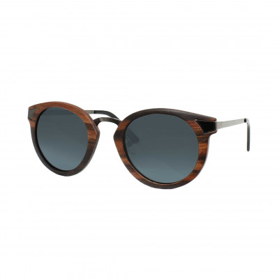 Wooden Frame Sunglasses Ignis Ebony