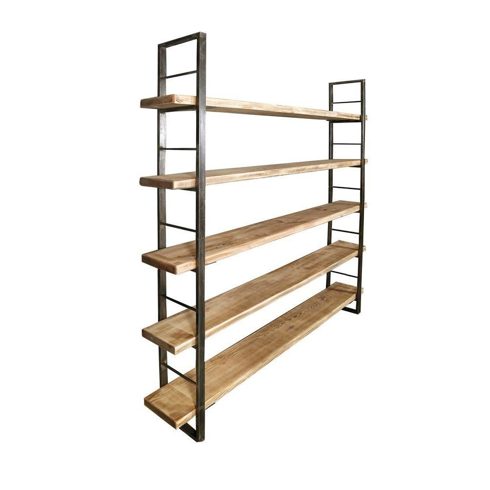 Sinem Shelf with Book End | Light Brown