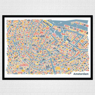 Amsterdam-Plakat