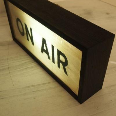 Kleiner Leuchtkasten | On Air