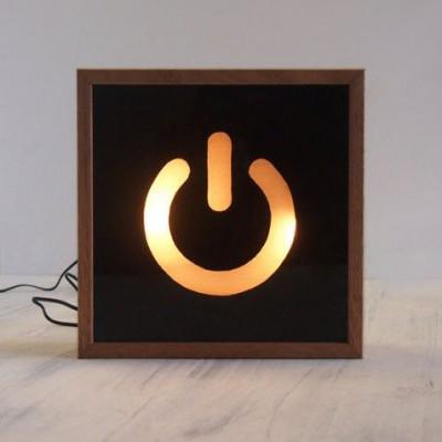 Kleiner Lichtkasten | Stromschalter