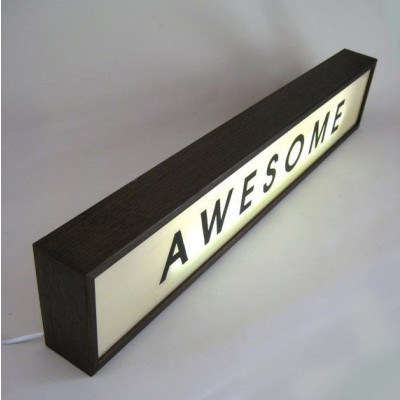 Große Lightbox | Awesome