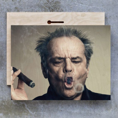 Jack Nicholson, Cigar