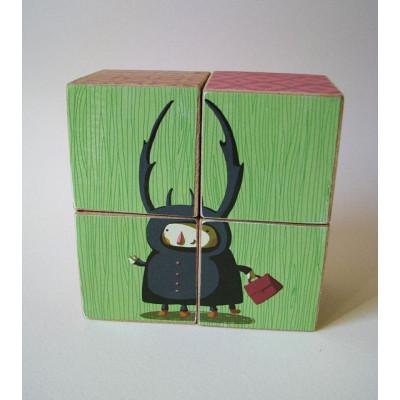 Wooden Blocks Puzzle-Bug