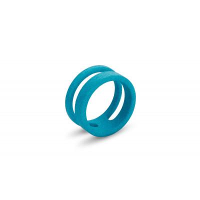 Ausgeglichener Ring #2 | Türkis