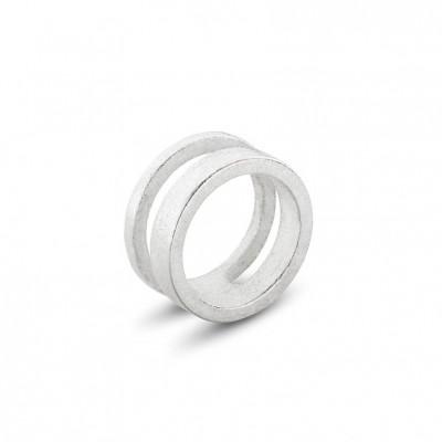 Ausgeglichener Ring #2 | Silber