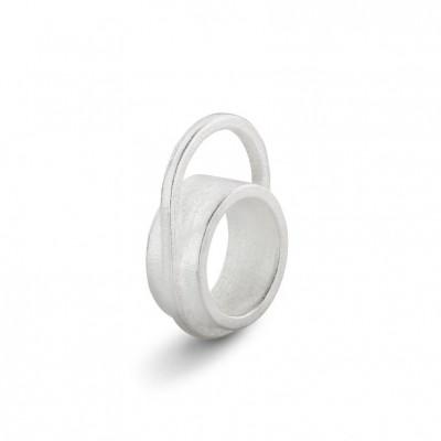 Ausgeglichener Ring #3 | Silber