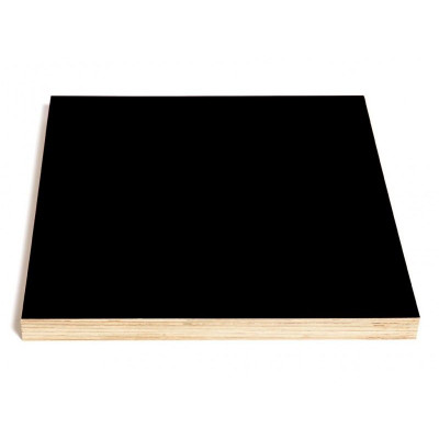 Square Chalk-and Magnetic Board Black