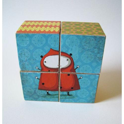 Wooden Blocks Puzzle-Bee